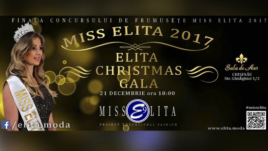Finala Miss Elita 2017- Christmas Gala 21.12.2017