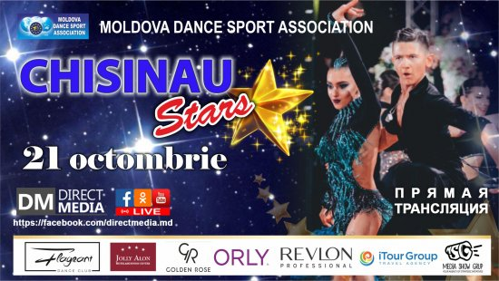 V International Dance Festival «CHISINAU STARS 2018» 21.10.2018