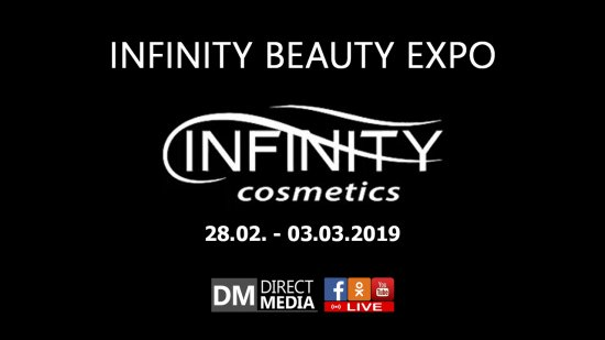 Live: INFINITY BEAUTY EXPO 28.02.-03.03.2019