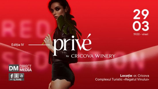 Live: Privé Fashion Events by Cricova Winery 29.03.2019