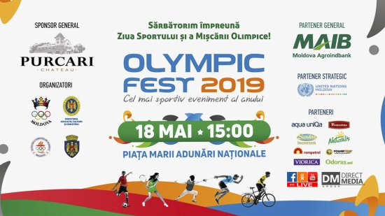 LIVE: Olympic Fest 2019 18.05.2019