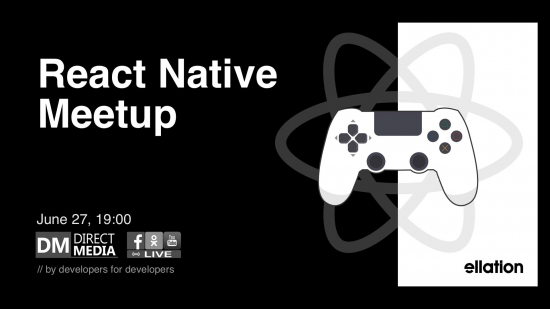 LIVE: React Native Meetup 27.06.2019