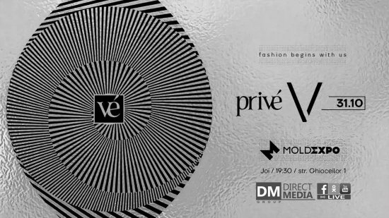 Live: Privé Fashion Events 31.10.2019