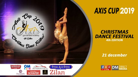 Live: AXIS CUP 2019 | Christmas Gymnastics & Dance Festival 4th Edition 21.12.2019